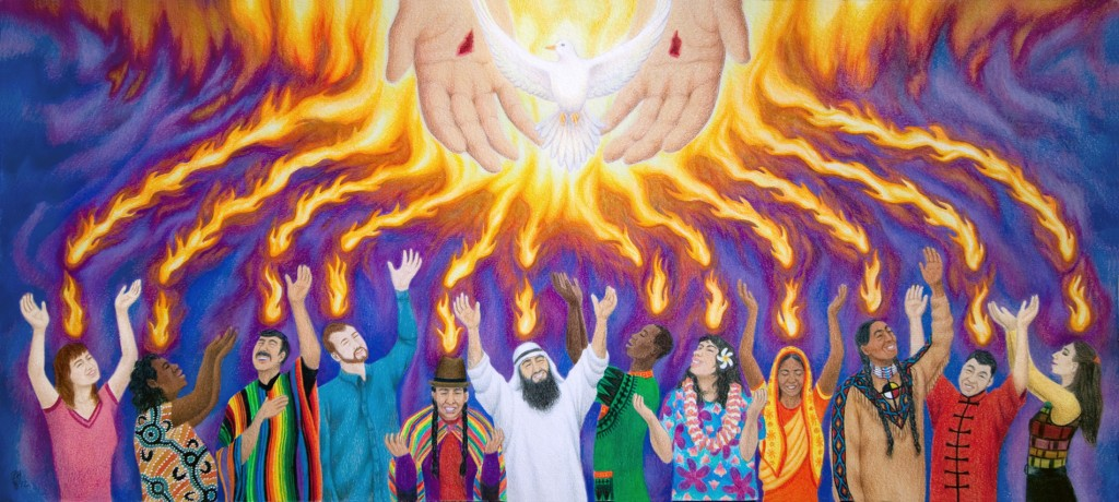 the gift from jesus the holy spirit trinity and humanity