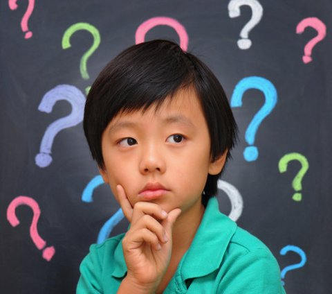 questioning child