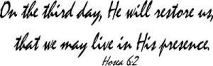 Resurrection with Jesus