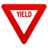 20133463-usa-yield-sign