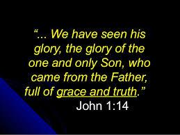 Grace John 1.14