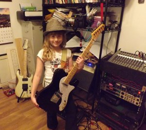 Faith Winn: Future Rocker!