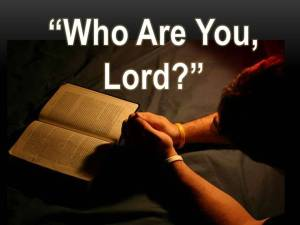 who are you lord- photo
