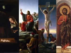 Jesus Birth Life Death Resurrection Ascension