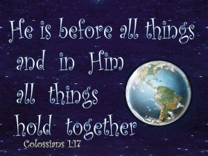 Christ Before All Things