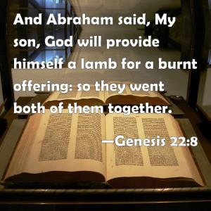 God will provide - Gen 22