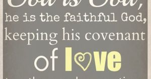 God is faithful to his covenant (Gen 41-50)
