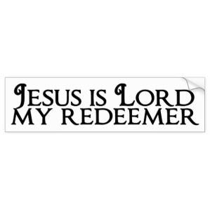 Jesus Is Redeemer (Exodus 1-3)