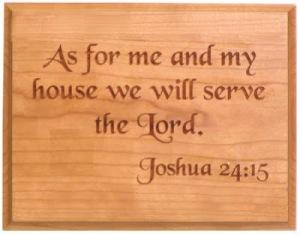 Joshua 24 Gospel Project 2017